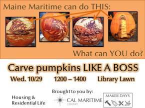 Maker Days: Pumpkin CarvingContest!